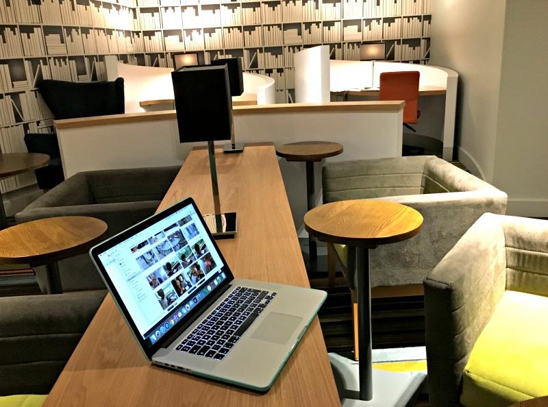 Workspace at David Lloyd club