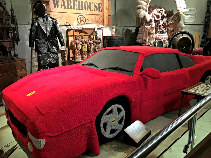 Knitted Ferrari