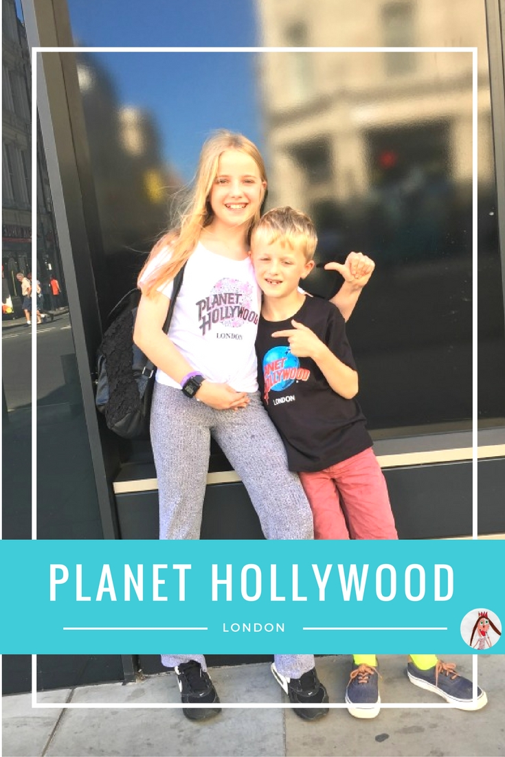 Planet Hollywood London is a great place to take the kids for a fun entertainment experience with great food.