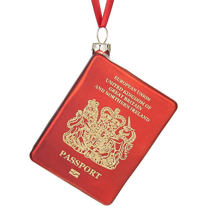 Every year we struggle with what to get for Christmas gifts for difficult to buy for members of our family. This little UK passport tree bauble is the perfect stocking-filler for travel lovers. Check out what else we have - we've even got the mother-in-law covered!