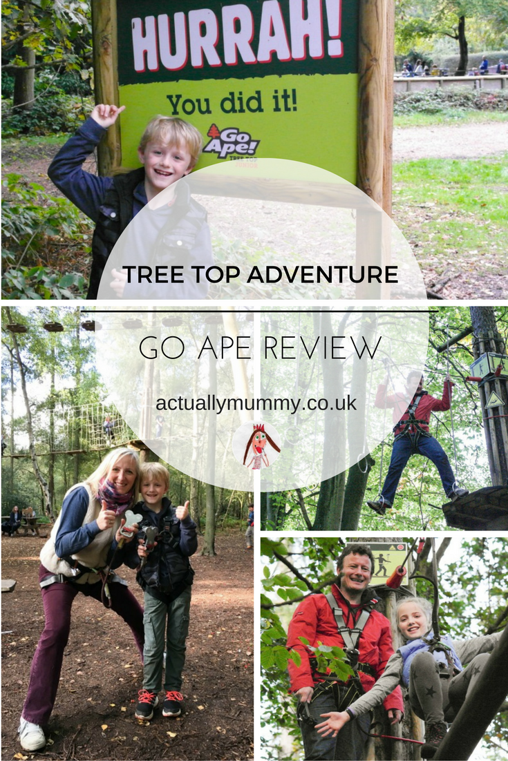 Go Ape is a fun-filled tree top adventure for the whole family, from age 6 and up. Find out what to expect, and how to make the most of a visit by clicking the link to the review
