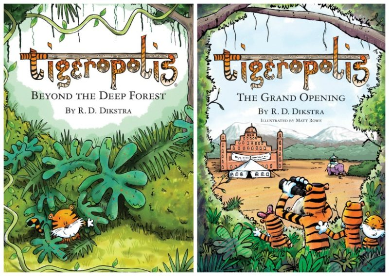 Every year we struggle with what to get for Christmas gifts for difficult to buy for members of our family. Tigeropolis is a lovely book for newly confident readers in your family. Check out what else we have - we've even got the mother-in-law covered!
