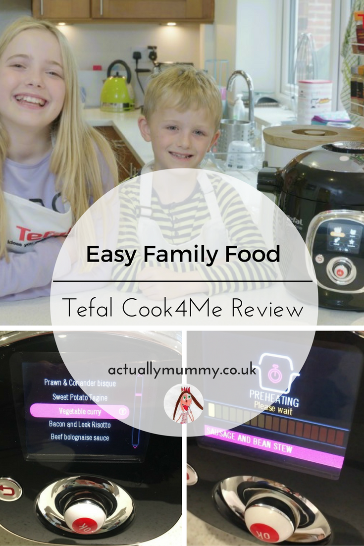 Could your kids be Chefs of the Future? We reviewed the Cook4Me by Tefal to see if it would stand up to their claims that it's so simple the kids can make dinner. Find out what we thought by clicking through to the full review.