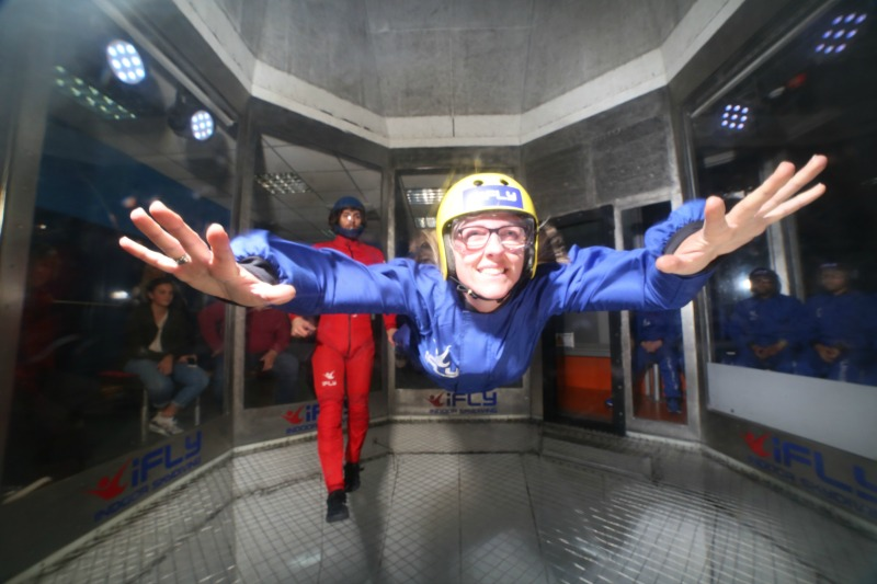 Skydiving without Fear