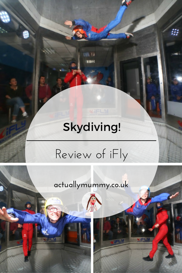 iFly: indoor skydiving at Milton Keynes: is it worth it for a day out with the kids?