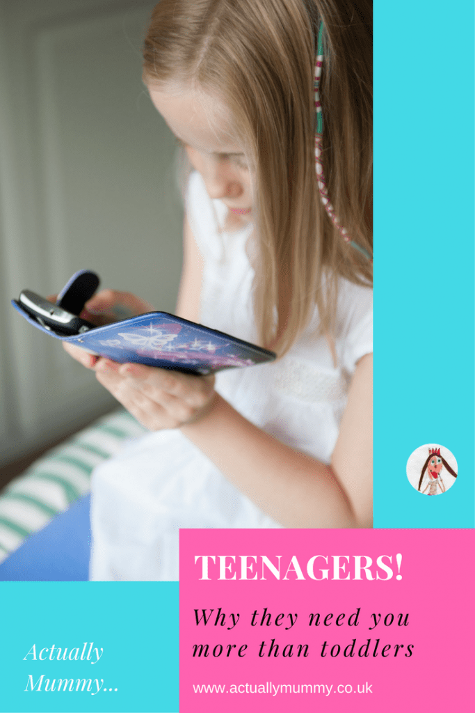 You know how annoying it is when you're an exhausted new parent, and people tell you it's only going to get harder. Well they're right. Read on to find out why kids need you more, not less, as they get older.