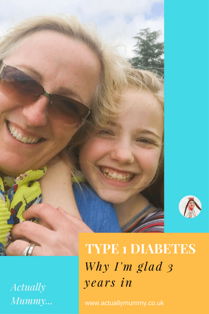On our 3rd diabetes anniversary, I can finally tell you what's good about living with type 1 diabetes