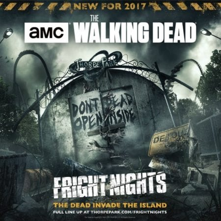 Thorpe Park Fright Nights Halloween Walking dead mazes - what it's really like - review