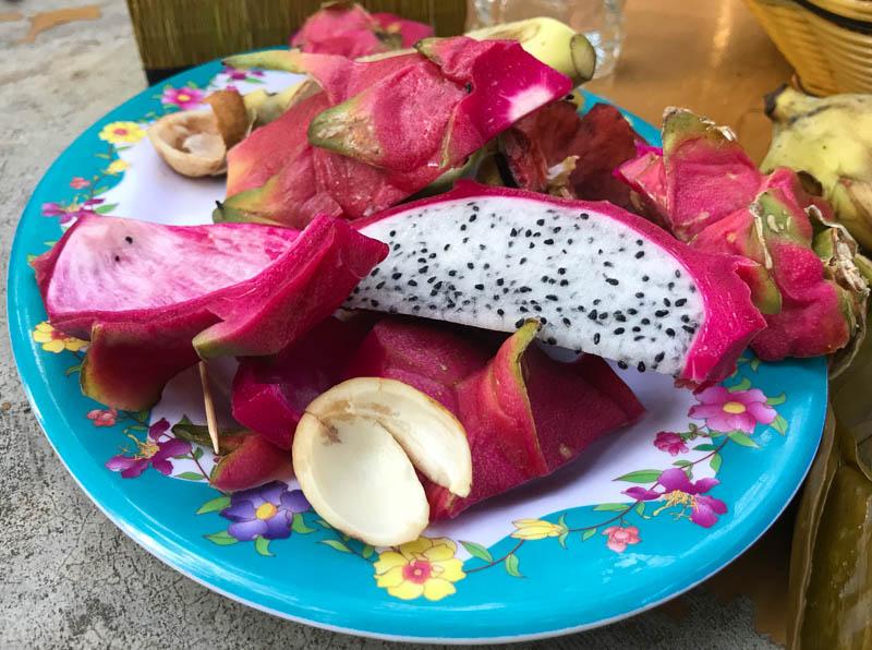 Cambodia family holiday highlights - amazing fruit