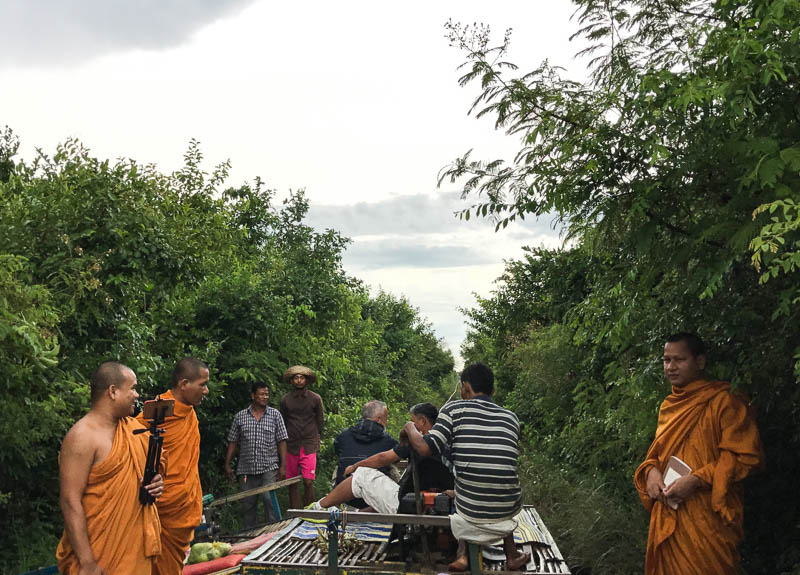 Cambodia family holiday highlights - the Bamboo train in Battambang is a must-do!