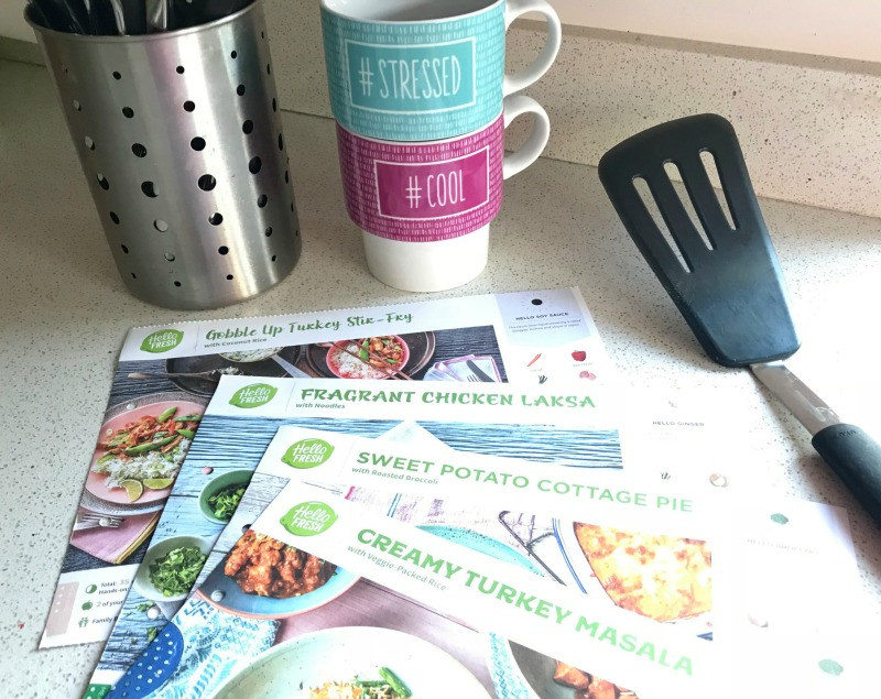 Review: Hello Fresh family box