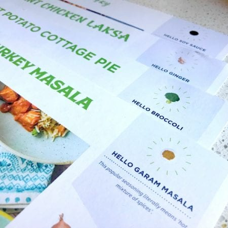 Family Food: Review of the Hello Fresh Family Box