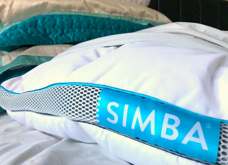 A customisable pillow from SIMBA