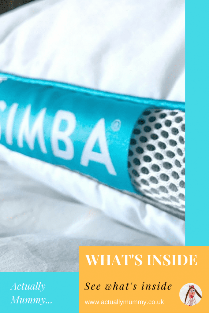 See what's inside a Simba pillow. We deconstruct a Simba pillow so you can see what's inside, and review it for comfort.
