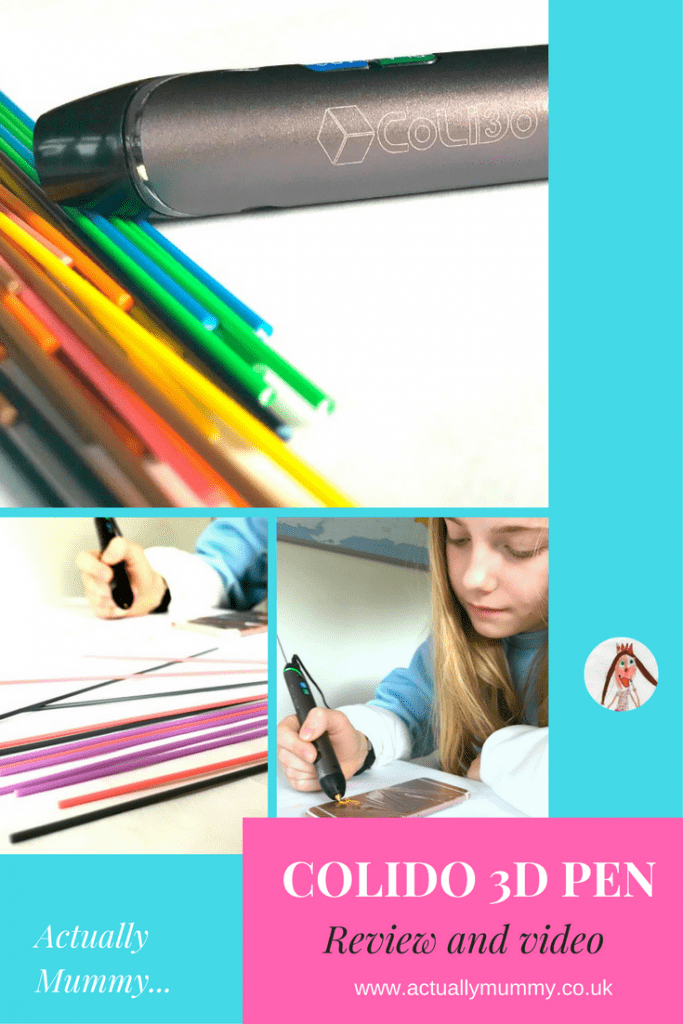 If you've never heard of a 3D pen, or you're wondering if it would be a good thing to have, read our CoLiDo 3D pen review by clicking through to the website. It's the perfect gift for creative teens.